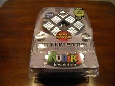 Rubik's Revolution Electronic Handheld Game - Titanium Edition, NIB