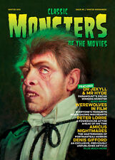 CLASSIC MONSTERS Magazine #5: DR JEKYLL & MR HYDE Werewolves WOLF MAN Lorre New