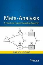 Meta-Analysis : A Structural Equation Modeling Approach by Mike W. -L. Cheung...