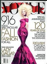 Vogue Magazine September 2012 Lady Gaga EX 070816jhe