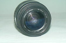 Objectif SIGMA UC ZOOM 28-70 mm 1:3,5-4,5 multi-coated 52 °  LENS 1131399
