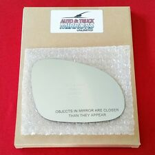 NEW Mirror Glass + ADHESIVE JETTA RABBIT PASSAT GTI EOS Passenger Side FAST SHIP