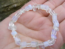 Opalite Piedras Preciosas De Cristal Chip Pulsera de abalorios un grado 5mm-8mm Beads