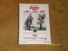 Marvin Hamlisch songbook STARTING OVER (Stephanie Mills) 17 pp w/ pix (4 songs)