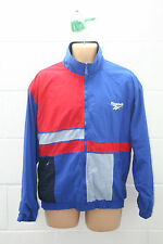 VINTAGE REEBOK 1990s FULL TRACKSUIT TRACKY SHELL SUIT URBAN JACKET CLASSICS XL
