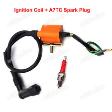 Racing Ignition Coil Spark Plug For ATV Quad 50 90 110 cc Lifan Taotao Roketa