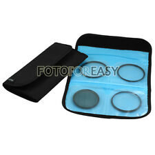 5 in1 52mm (CPL+UV+ND8) Lens filter+ White Balance+ 4-Slot Wallet Case Pouch Kit