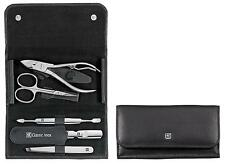 Zwilling Classic 5-Part Manicure Set In Black Leather Case No. 97437-004 New