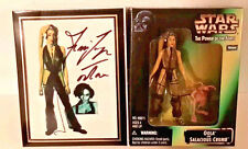 Toy Expo Ltd Ed Star Wars Oola/Salacious Crumb Action Figure Signed Femi Taylor
