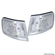 For 94 95 96 97 HONDA ACCORD EURO CLEAR LENS CORNER TURN SIGNAL LAMP LIGHTS