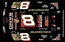 #8 Dale Earnhardt jr Dave Matthews 20041/32nd Scale Slot Car Waterslide Decals