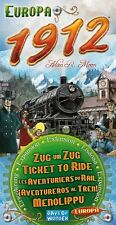Ticket To Ride 1912 Expansion , New, Free Shipping