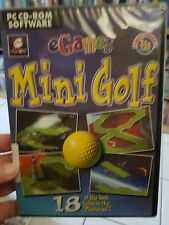 Egames Mini Golf (NEW SEALED) PC GAME - FREE POST