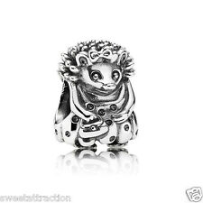 New Authentic Pandora 791179 Miss Hedgehog Bead Pandora Bag Included