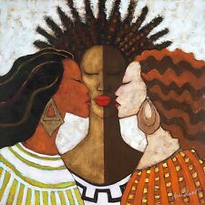 EVERY WOMAN ART PRINT BY MONICA STEWART African American 36x36 beauty NEW poster