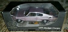 1/18 American Muscle 1966 Dodge Charger Highly Detailed Die Cast Model Car 33933