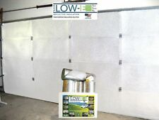 Low-E SSR 1 Car Garage Door Reflective White Foam Core Insulation Kit