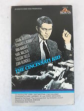 THE CINCINNATI KID  STEVE MCQUEEN  VHS Video Tape MGM
