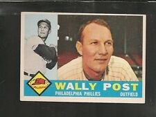 7217* 1960 Topps # 13 Wally Post EX
