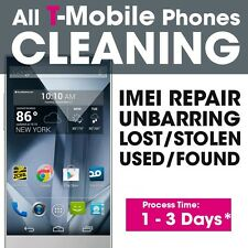 T-Mobile Cleaning Unblacklist Service iPhone 6S+/6S/6+/6/5S/5C/5 used Bad IMEI