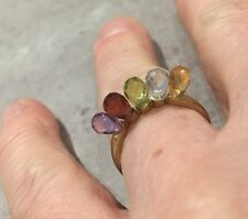 STUNNING 9ct  MULTI GEM