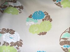 "sanderson fabric curtain material""obi""piece 3.5 mtrs 54""wide cotton"