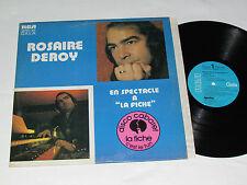 ROSAIRE DEROY En Spectacle A La Fiche LP 1972 RCA Gala Disco Cabaret VG/VG