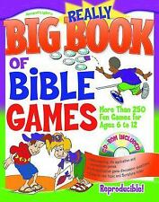 Really Big Book of Bible Games with CD-ROM: For children aged 6?12; over 250 gam
