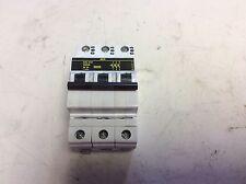 AEG Elfa E83 U25A 3 Pole Circuit Breaker 25 Amp
