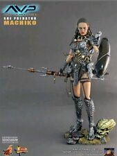 "Hot Toys She Predator Machiko Hot Angel 1/6 12"" Scale Collectible Figure MIB"