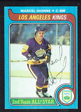 Marcel Dionne #160 signed autograph auto 1979-80 Topps Hockey Trading Card