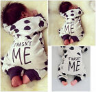 Newborn Toddler Infant Baby Boy Girl Romper Jumpsuit Bodysuit Clothes Outfits