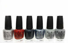 OPI Nail Lacquer - FIFTY SHADES OF GREY - All 6 Shades NLF74-NLF79