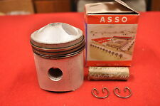 NOS 1961-66 Harley Sprint 250 C H 66.2MM Piston and Rings Kit