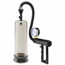 Pump Worx Pistol Grip Penis Pump Male Enhancer Enlarger with Pressure Gauge