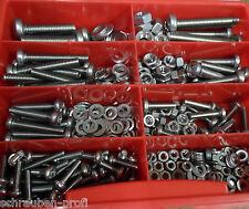 360 Teile Rostfreier Stahl TORX Schrauben Muttern Sortiment M4 - M8 Din 7985