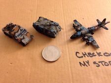 Military Micro Machines #9 Hurricane Commandos Tank Plane Hummer (1996)