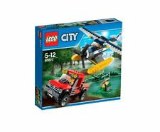 60070 WATER PLANE CHASE lego city town police NEW airplane legos set swamp