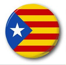 "CATALONIA FLAG - 25mm 1"" Button Badge - Cute Novelty Catalunya Independence STAR"