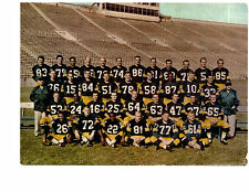 GREEN BAY PACKERS 8X10 TEAM PHOTOS LOT OF 4  1961 1962 1963 1964 FOOTBALL