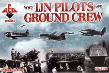Red Box 1/72 72053 WWII Imperial Japanese Navy Pilots, Ground Crew (Pacific War)