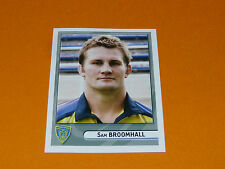 N°216 BROOMHALL CLERMONT ASM AUVERGNE PANINI RUGBY 2007-2008 TOP 14 FRANCE
