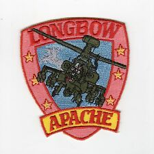 "Apache Longbow 2 1/2"" BC Patch Cat No M6049"