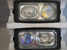 "CHEVROLET 6.5"" X 3"" DUAL TWO FOG LIGHTS UNIVERSAL CAR TRUCK SUV  4 LIGHTS TOTAL"