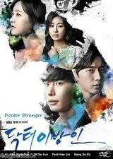 Doctor Stranger Korean Drama (4DVDs) Excellent English & Quality!
