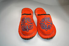 KYRGYZ FELT SLIPPERS,NATURAL,HANDMADE,COMFARTABLE,SHEEP WOOL,NO ARTICIAL.