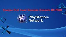 PS3 Console ID 100% Private ,Unban IDPS ,CID + PSID with warranty