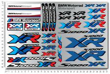 S1000XR motorcycle decal set motorrad sheet 32 Laminated stickers bmw s1000 XR