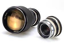 Lot 2 x Lens Carl Zeiss Super Dynarex 200mm 4 and Tessar 50mm 2.8   (Réf#B-152)