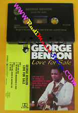 MC GEORGE BENSON Love for sale holland CLEO CL 091784 no cd lp dvd vhs